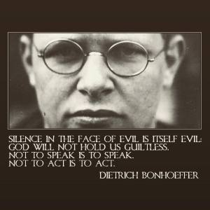 Blog about Dietrich Bonhoeffer