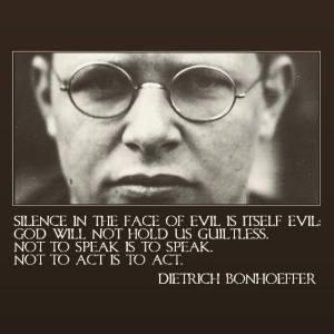 Blog about Dietrich Bonhoeffer
